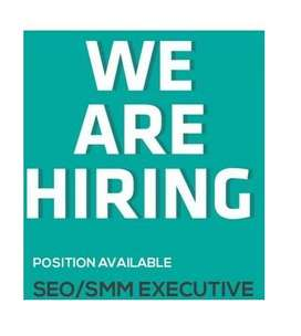 Required SMM and SEO executive