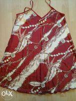 Ночная рубашка красная 46 р красная