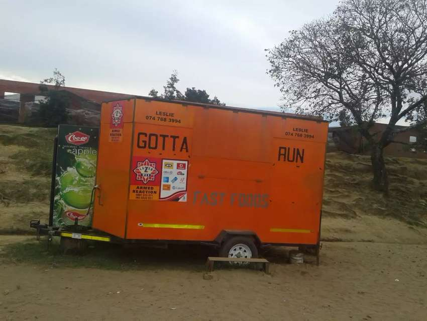 FULLY FITTED MOBILE  FOOD TRAILER FOR SALE  /RENT OR HIRE 0