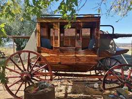 Antique Homemade Stage Coach