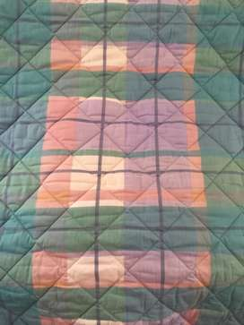 2 Beautiful Quilted Single Bed Comforters
