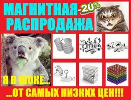 Неодимовый сильный магнит 40*25•80кг•115кг