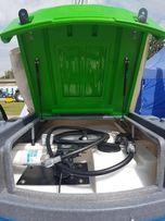 Zbiornik na paliwo 2500 litrów Fortis dwupłaszczowt od ręki