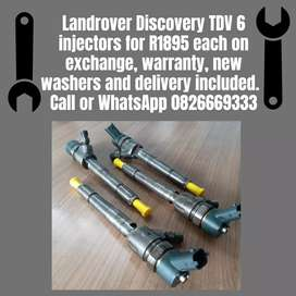 Landrover discovery TDV 6 diesel Injectors for sale