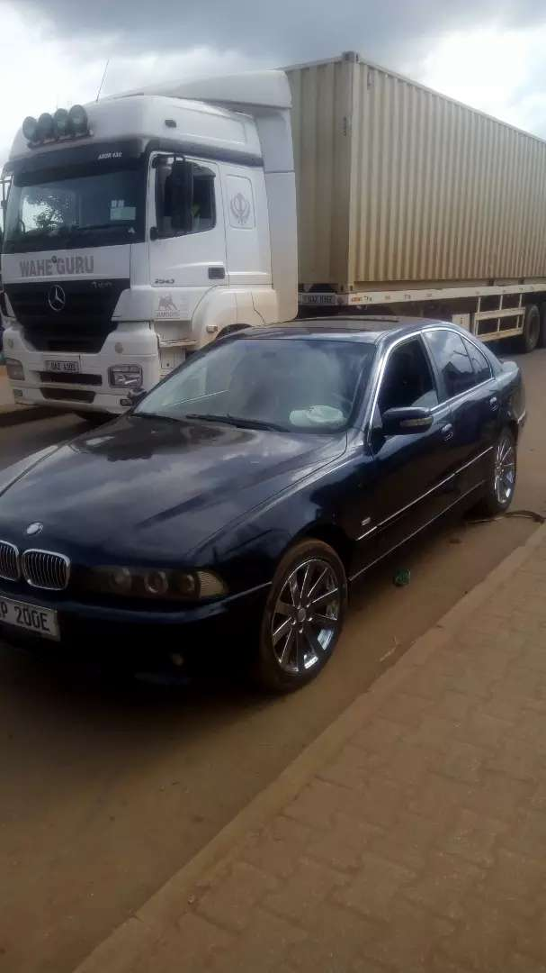 BMW 5 series with a Mark2 engine/gearbox, leather interior @9m only. 0