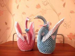 Оригами Лебедь на любой праздник для Вас!