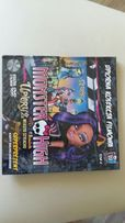 Monster High Upioryż miasto strachu tom 4 książka + film DVD
