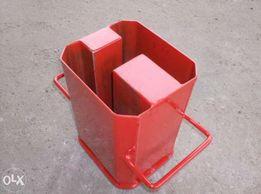 Forma do produkcji słupków przelotowych podmurówka materiały budowlane