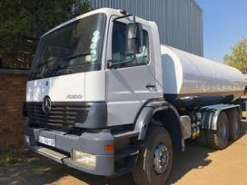 Mercedes Benz Atego with 16000l Water Tanker