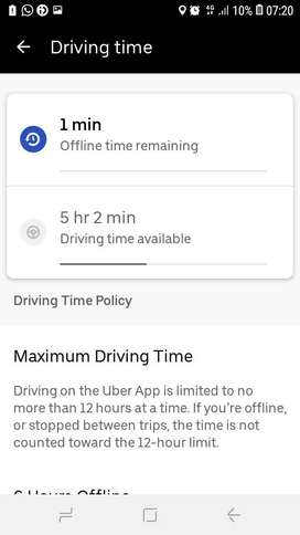 im uber&bolt driver with own slot
