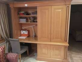 Study desk and book case for SALE