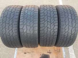 265 60 R18 Cooper discover A/T3 Tyres