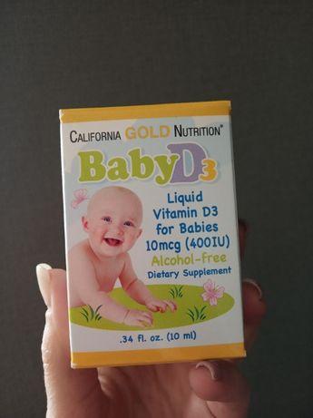 Витамин Д3 для дітей, California Gold Nutrition, США