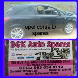 Opel corsa D spares available