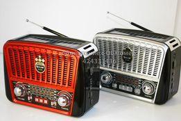 НОВЫЕ! Радиоприёмник радио GOLON RX-456S Солнечная п, аккумулятор, MP3