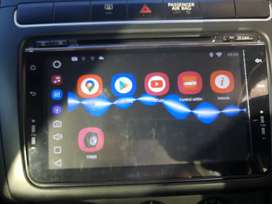 Vw 9 inch double din android player