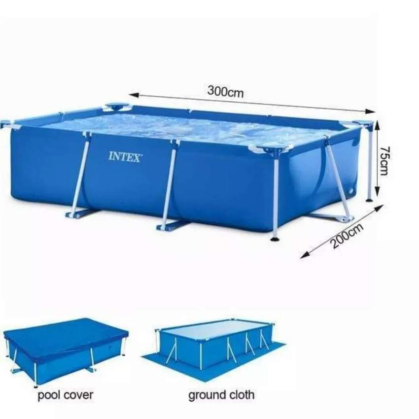 Steel frame swiming pool for sale was R2.500 want R1000
