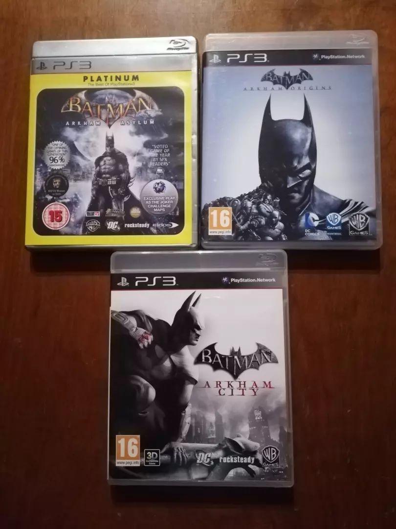 Hry Batman ps3 0