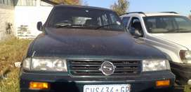 Ssangyong 1996 model the car has papers bu