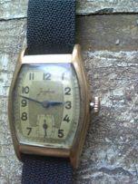 Винтаж:мужские наручные часы junghans j80,1931 год,позолота 20мк
