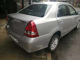 Toyota Etios 1.5 sprint 2017 model in a very good condition