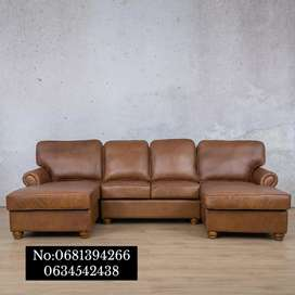 Saior Leather Couch