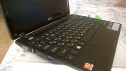 Ноутбук Acer Aspire One 725: 4Gb / SSD Intel 180Gb
