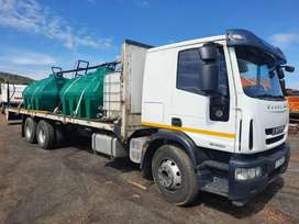 2107 Iveco 12 000 litre water tank