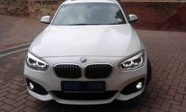 2015 BMW 1 SERIES 120i M SPORT WHITE