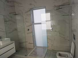 Frameless Shower doors, walk-in showers glass partitions, balustrades
