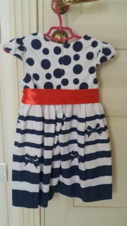 Красивое платье, на 1-3 года Агрономичное - изображение 2