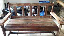 Solid Balau Timber Benches