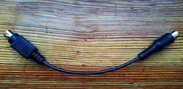 Продаю кабель-переходник 7-pin mini-DIN (male)-RCA (female) Composite