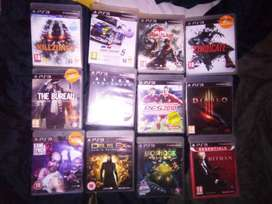 PlayStation 3 with 2 wireless remotes and 29games plus HDMI cable an