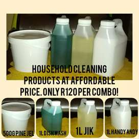 Good quality cleaning products for sale!!!