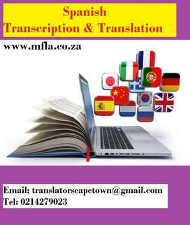 Spanish Transcription and Translation Services Cape Town