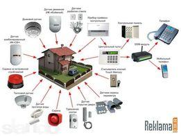 Установка видеонаблюдения .охранных систем и ремонт .