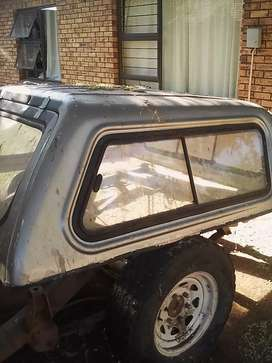 Colt Double Cab Canopy Silver