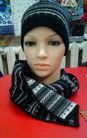 Шапка + шарф.