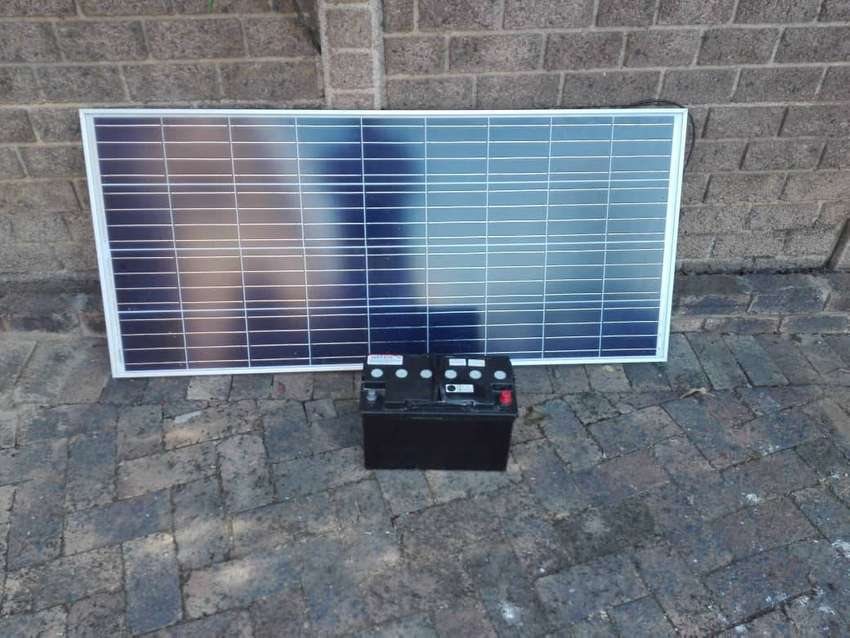 SOLAR PANELS AND BATTERIES 0