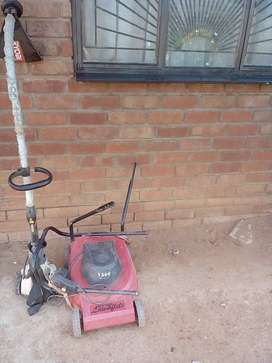 Lawn mower & trimmer