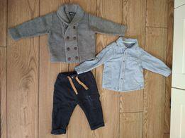 Ubranka dla chłopca rozm. 74