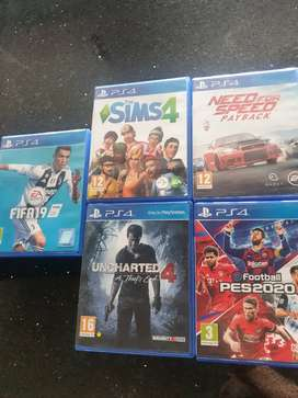 Playstation ps4 games