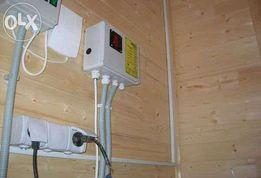 Электрик на дом в Николаеве, электропроводка недорого