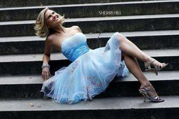 NIEPOWTARZALNA piękna sukienka Sherri Hill z USA