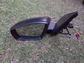 2013 VW POLO 6 MANUAL DOOR MIRROR LEFT SIDE FOR SALE