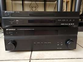 Sansui faulty Amp and working dvd player without remote