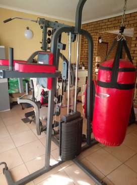 Home Gym. 4years old. Good condition (Seats need repair)