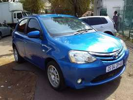 2013 Toyota Etios hatch back 1.5