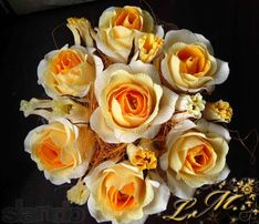 """Букет из конфет """"Розы"""""""